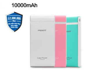 Pisen Color Power 10000mAh Smart