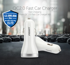 Pisen Quancomm Car Charger 2.0